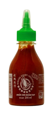 Sos chili Sriracha, bardzo ostry (chili 61%) 200ml - Flying Goose